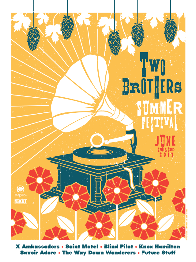 Two-Brothers-Summer-Festival-Poster